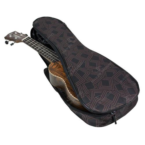 Soprano Ukulele Gig Bag, 5mm Padding in Chockablock