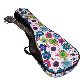 Tom & Will Soprano Ukulele Gig Bag, 5mm Padding in Flowers