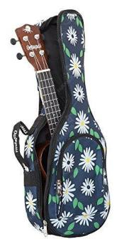 Octopus Soprano Ukulele Bag - Daisies Pattern 5mm Padding