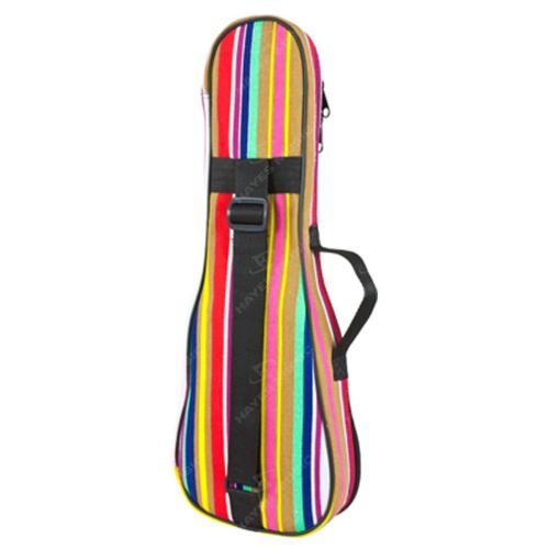 Tenor Ukulele Gig Bag, 5mm Padding in Stripes