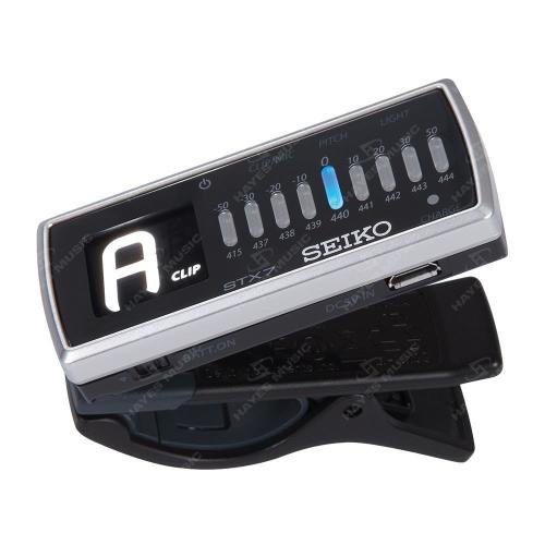 Rechargeable Clip On Chromatic Tuner