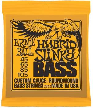 Ernie Ball Guitar Strings Hybrid Bass Slinky Set 45-105
