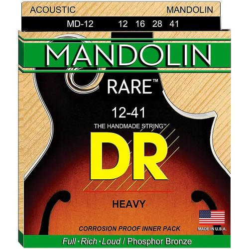 DR Rare Mandolin strings (Heavy)