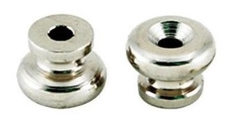 Strap Buttons Nickel Pack of 2