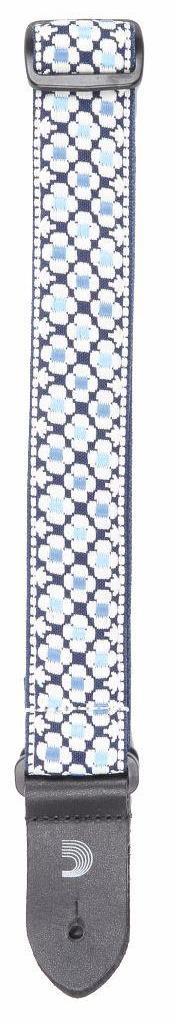 1.5 UKE Strap Jaquard - Blue