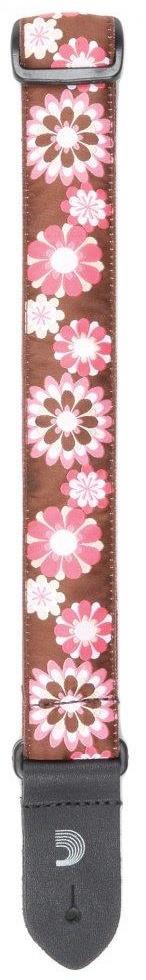 1.5 UKE Strap Jaquard - Flowers