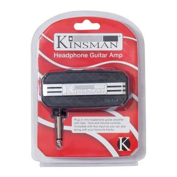 Kinsman Mini Jack Amplifier - Metal