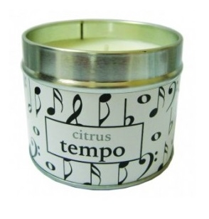 Candle Tin Citrus Tempo