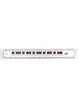 Clear Keyboard Ruler 12""