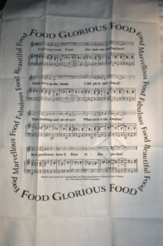 Food Glorious food Tea Towel