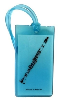 Musical Instrument Identification Tag - Clarinet