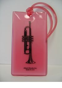 Musical Instrument Identification Tag - Trumpet