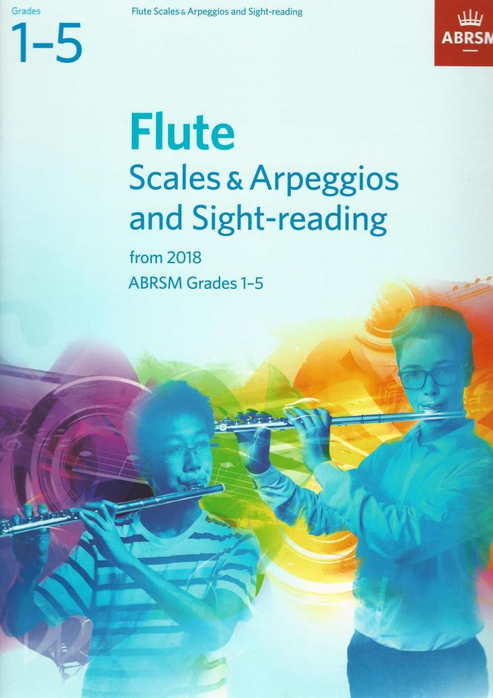 ABRSM: Flute Scales & Arpeggios and Sight-Reading, ABRSM Grades 1–5
