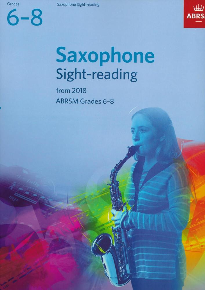 ABRSM: Saxophone Sight-Reading Tests, ABRSM Grades 6–8