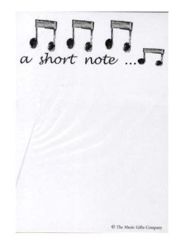 Notepad A Short Note