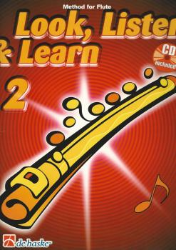 Look, Listen & Learn - Flute Part 2 (Book/CD)