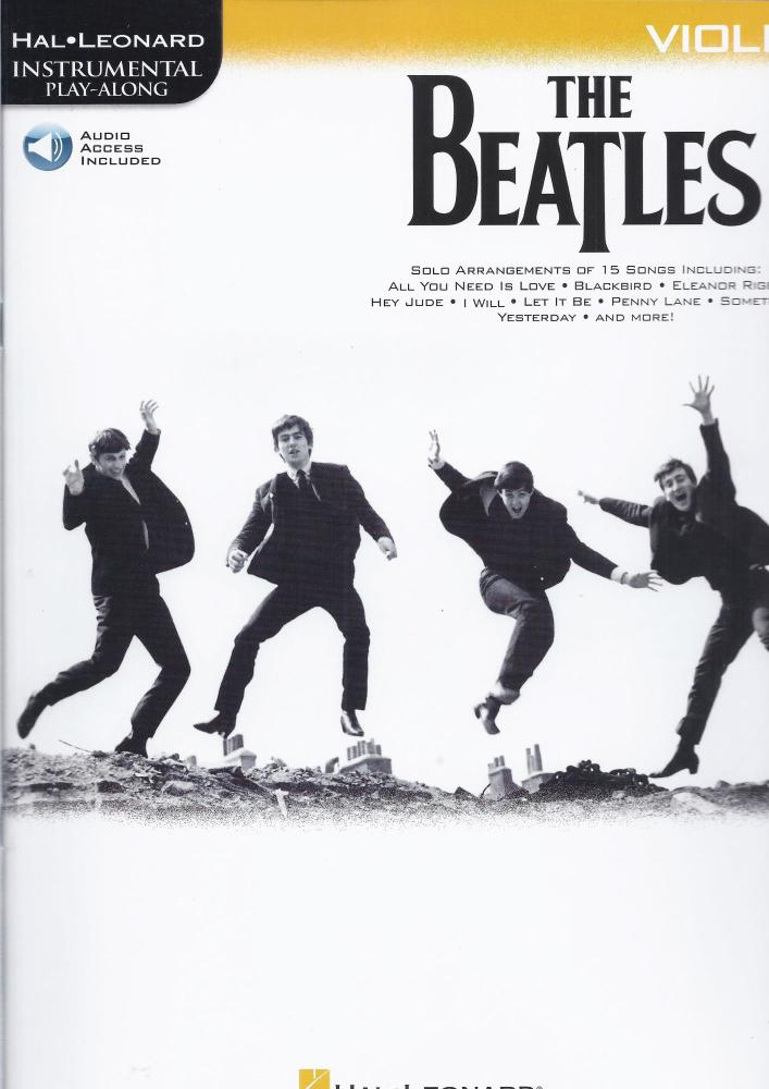 The Beatles - Instrumental Play-Along (Violin Book/Audio)
