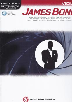Hal Leonard Instrumental Play-Along: James Bond - Viola (Book/Online Audio)