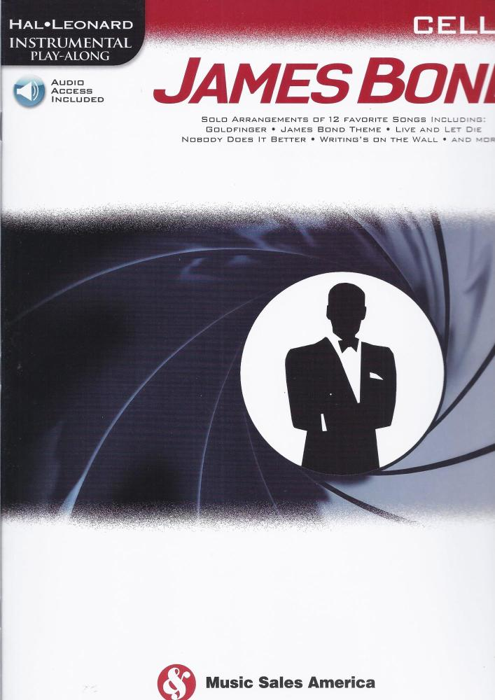 Hal Leonard Instrumental Play-Along: James Bond - Cello (Book/Online Audio)