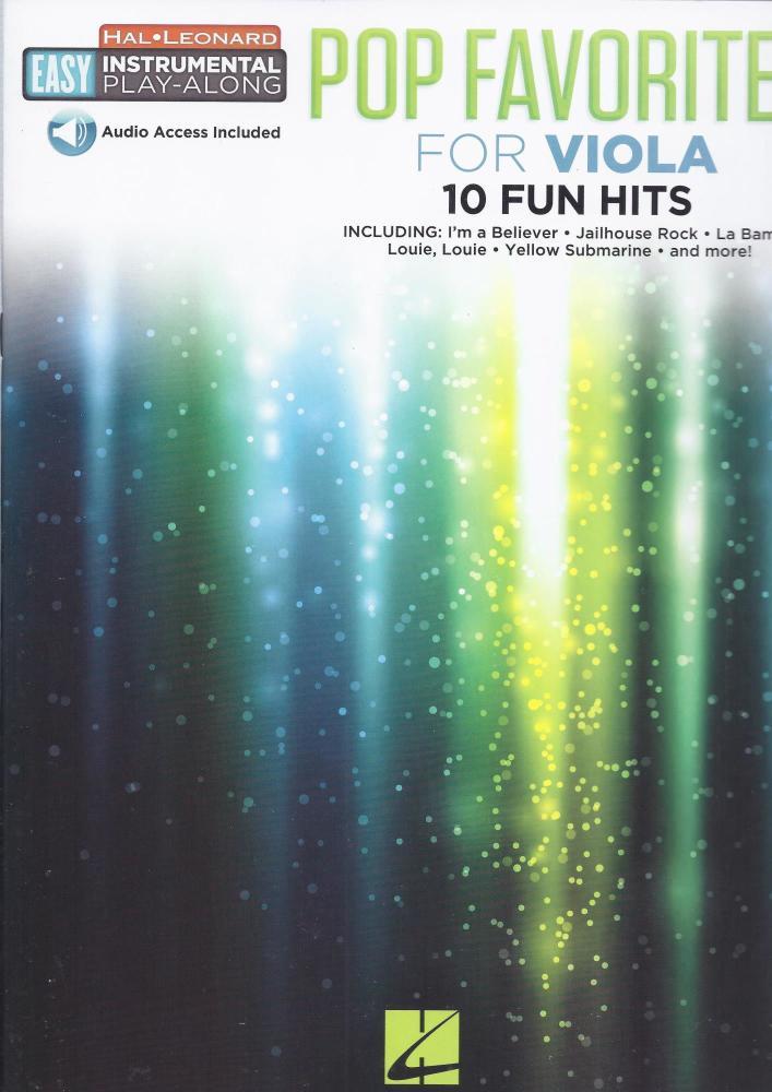 Instrumental Play-Along: Pop Favourites - Viola (Book/Audio)