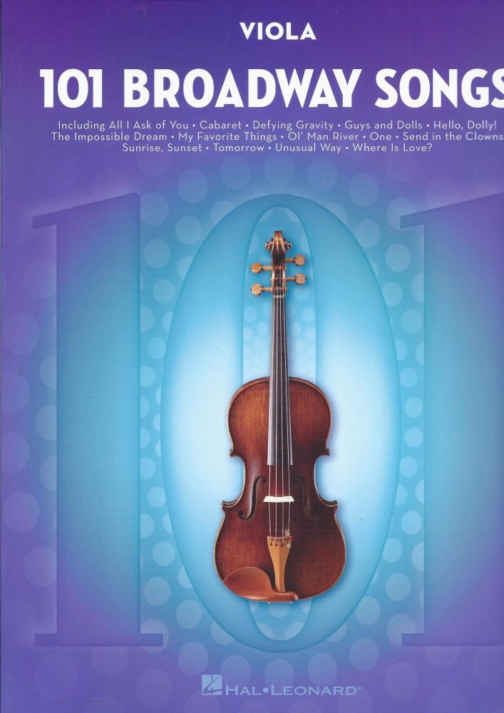 101 Broadway Songs: Viola