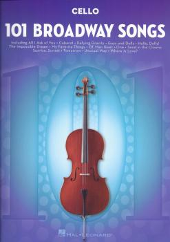 101 Broadway Songs: Cello