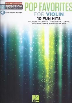 Instrumental Play-Along: Pop Favourites - Violin (Book/Audio)
