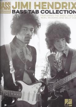 Jimi Hendrix Bass Tab Collection - Bass Recorded Versions