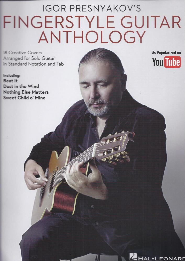 Igor Presnyakov's Fingerstyle Guitar Anthology (Guitar Songbook)