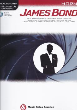 Hal Leonard Instrumental Play-Along: James Bond - Horn (Book/Online Audio)