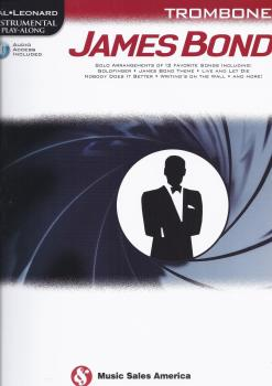 Hal Leonard Instrumental Play-Along: James Bond - Trombone (Book/Online Audio)