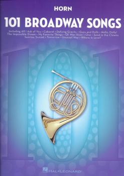 101 Broadway Songs: Horn