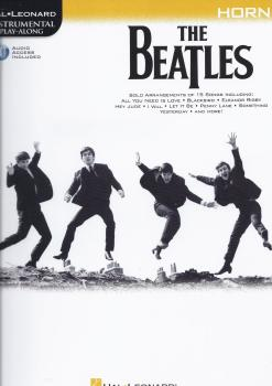 The Beatles - Instrumental Play-Along (French Horn Book/Audio)