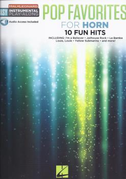 Instrumental Play-Along: Pop Favourites - Horn (Book/Audio)