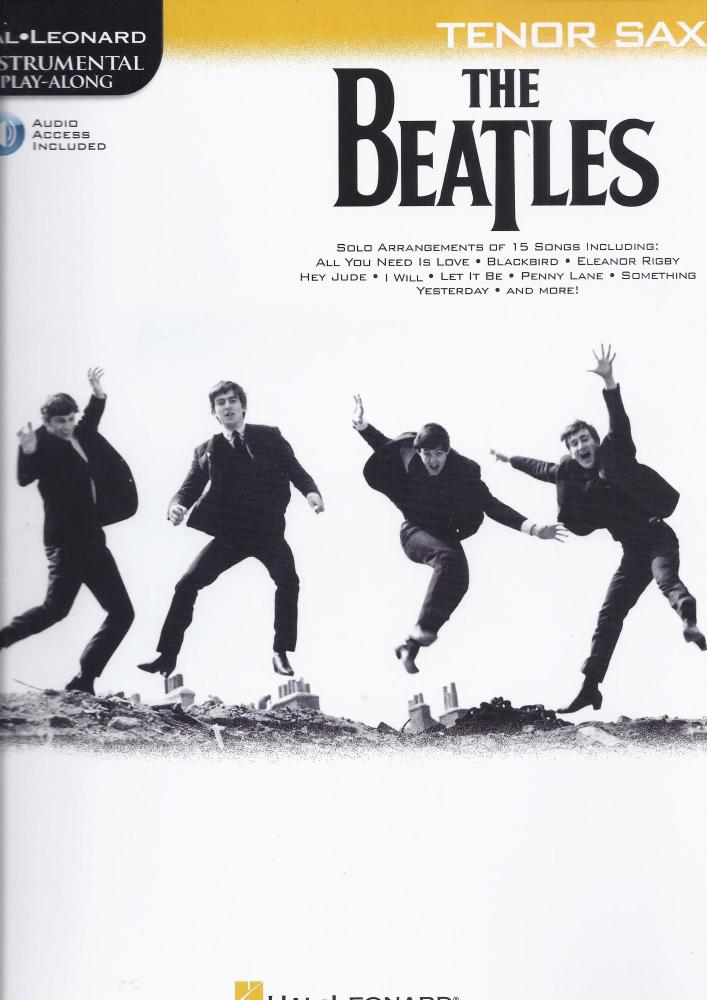 The Beatles - Instrumental Play-Along (Tenor Sax Book/Audio)