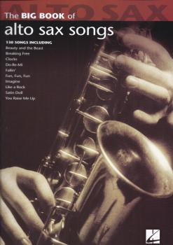 Big Book Of Alto Saxophone Songs