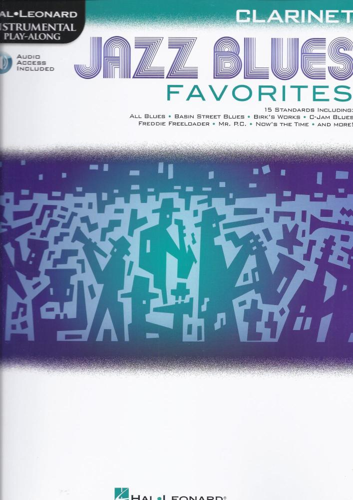 Jazz Blues Favorites - Clarinet