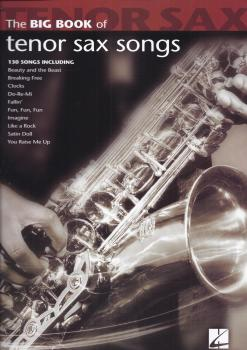 Big Book Of Tenor Saxophone Songs