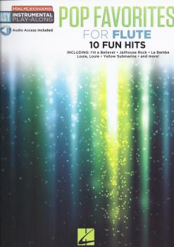 Instrumental Play-Along: Pop Favourites - Flute (Book/Audio)