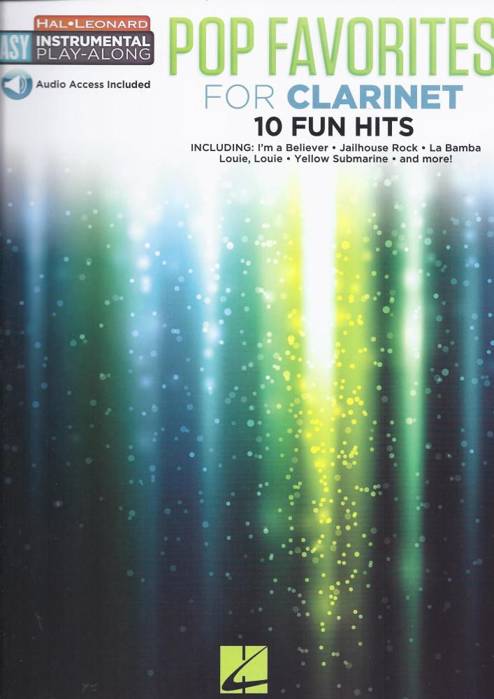 Instrumental Play-Along: Pop Favourites - Clarinet (Book/Audio)