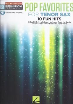 Instrumental Play-Along: Pop Favourites - Tenor Saxophone (Book/Audio)