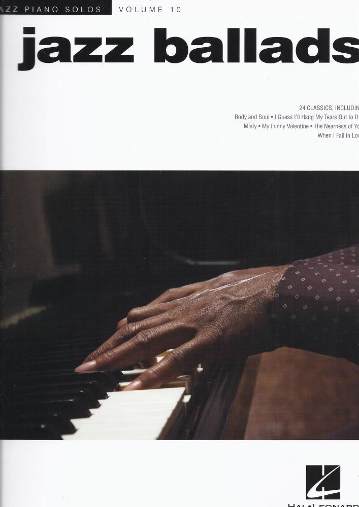 Jazz Piano Solos Volume 10: Jazz Ballads