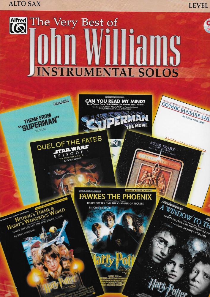 The Very Best Of John Williams: Instrumental Solos (Alto Sax)
