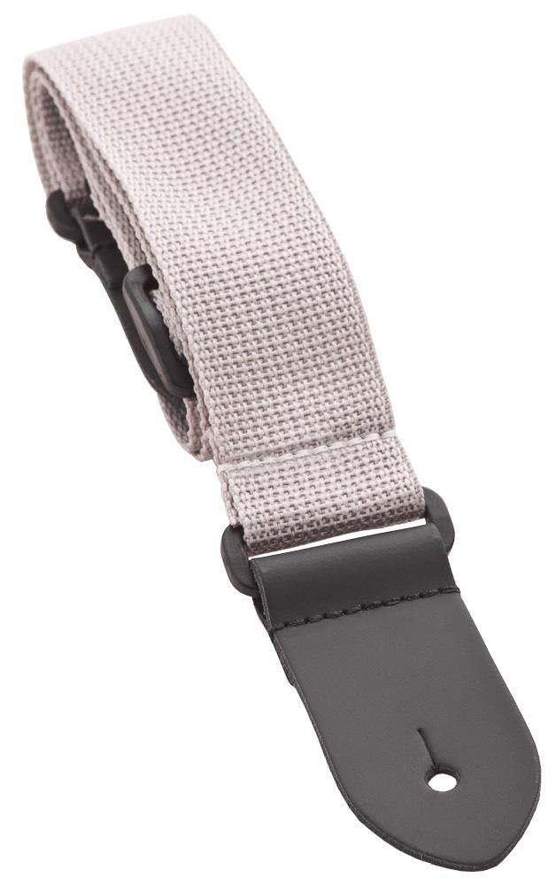 Perri 1973 Ukulele/Junior Guitar Strap - Grey