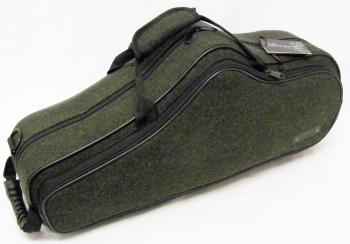 Beaumont Alto Saxophone Case - Racing Tweed