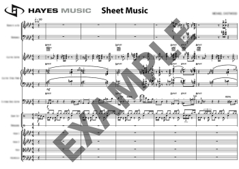 Two Movie Themes, Easy Brass Series
