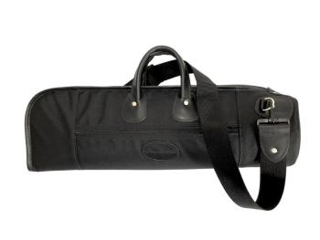 Cronkhite Single Trumpet Case in Smooth Black Leather