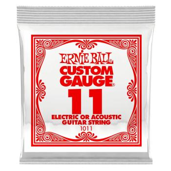 Ernie Ball .011 Plain Ball End Single String