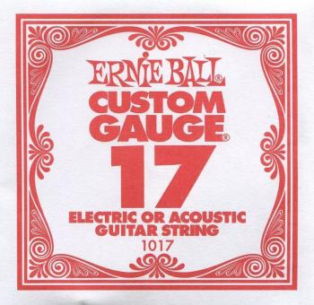 Ernie Ball .017 Plain Ball End Single String