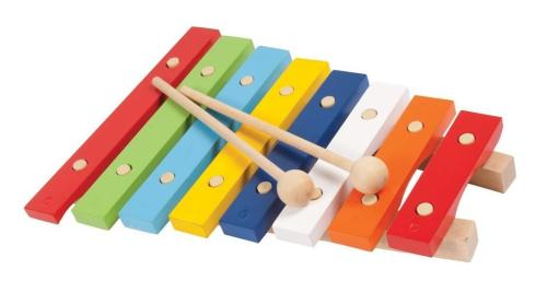 PP Xylophone 8 notes all wood Diatonic